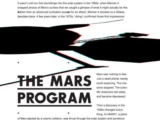 Martian Summer Outdoor Ad -  The Mars Program