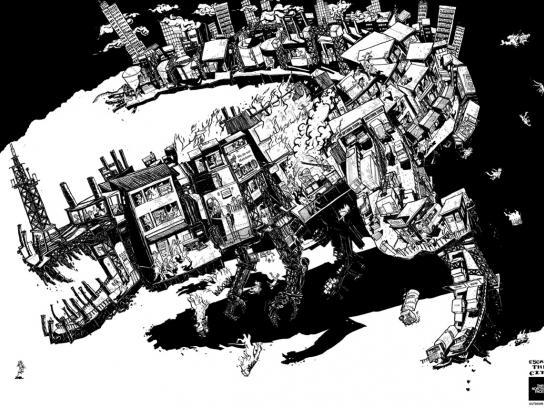 The North Face Print Ad -  Escape the city, 2
