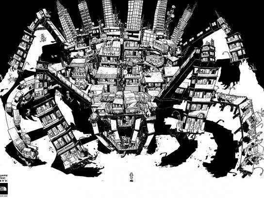 The North Face Print Ad -  Escape the city, 3