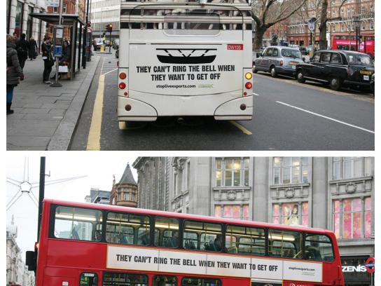 Compassion In World Farming Outdoor Ad -  Stop Live Exports, 1