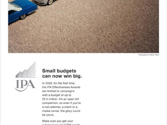 IPA Print Ad -  Win big
