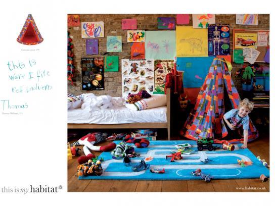 Habitat Print Ad -  Thomas