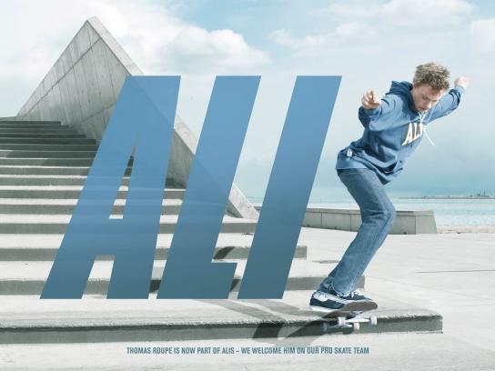Alis Print Ad -  Thomas Roupe is now part of Alis