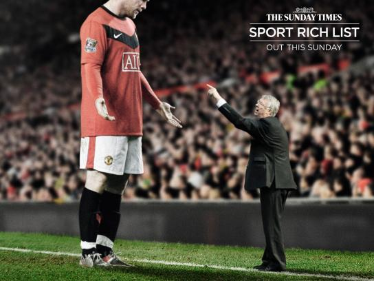 The Sunday Times Outdoor Ad -  Sports