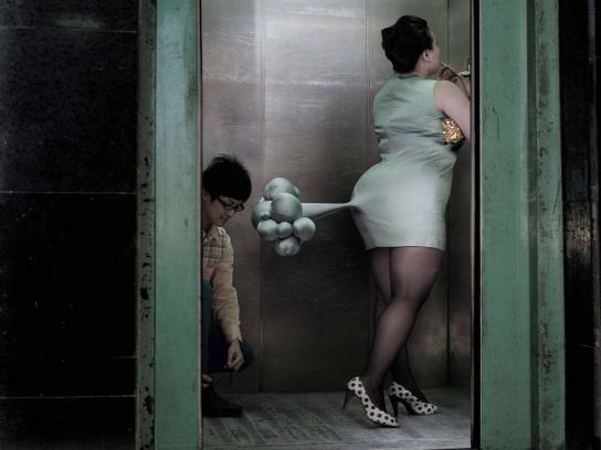 TianTian Print Ad -  Elevator