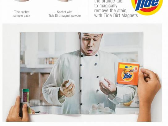Tide Print Ad -  Egg