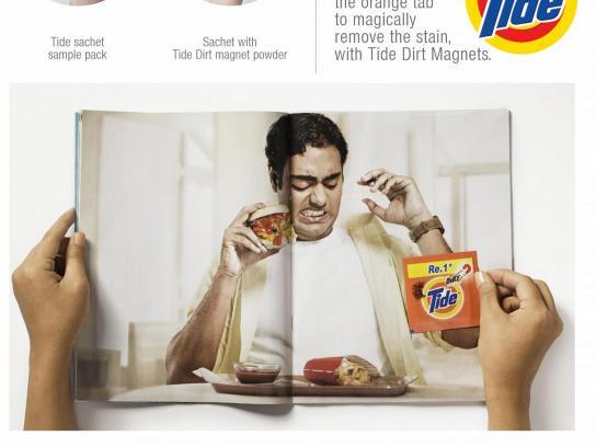 Tide Print Ad -  Ketchup