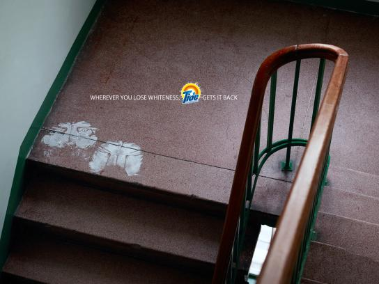 Tide Print Ad -  Stairs