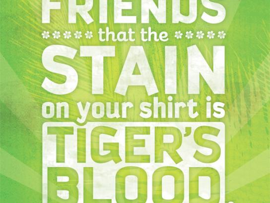 Tropical Sno Print Ad -  Tiger's blood