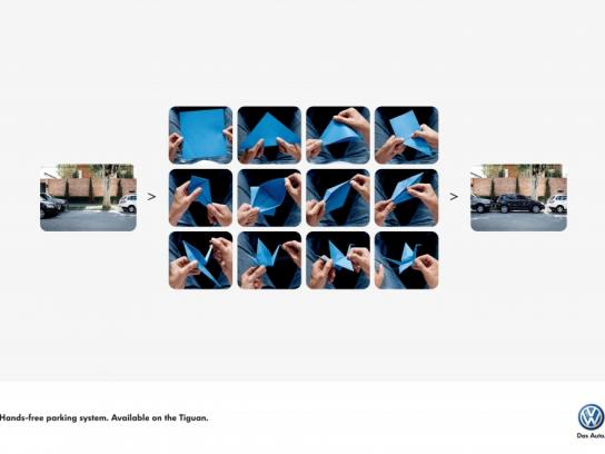 Volkswagen Print Ad -  Hands-free parking, 3