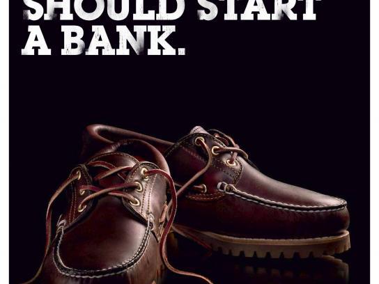 Timberland Print Ad -  Bank