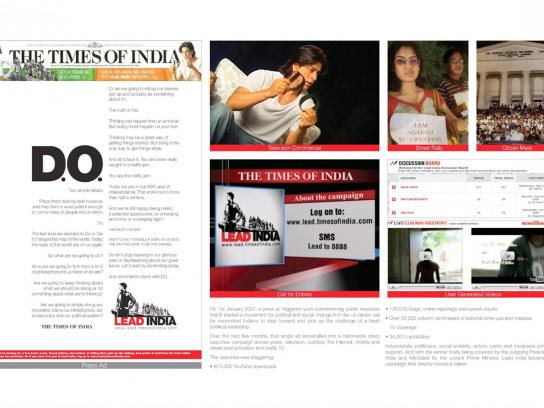 The Times of India Direct Ad -  Do