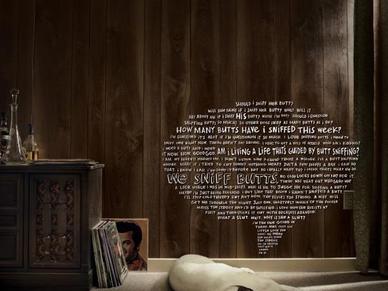 Timmie Print Ad -  Butt