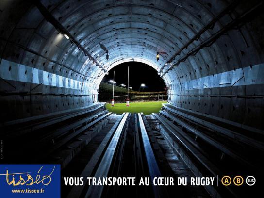 Tisseo Print Ad -  Tube