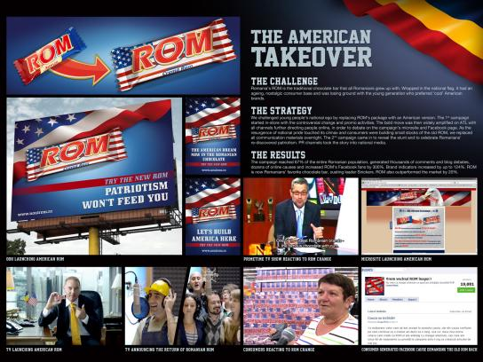 ROM Ambient Ad -  The American Takeover