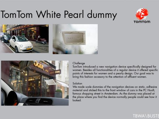TomTom Ambient Ad -  White Pearl dummy