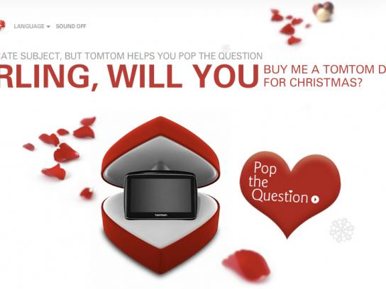 TomTom Digital Ad -  Pop the question
