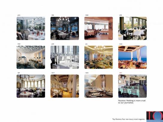 Top Destinos Print Ad -  Restaurants