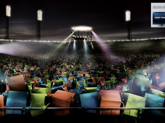 Toshiba Print Ad -  Stadium