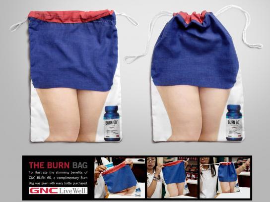 GNC Direct Ad -  Burn bag