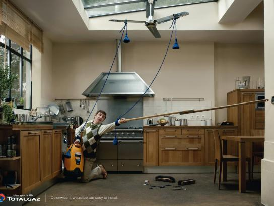 Totalgaz Print Ad -  Fan