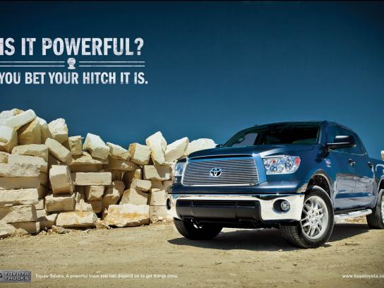 Toyota Print Ad -  Hitch