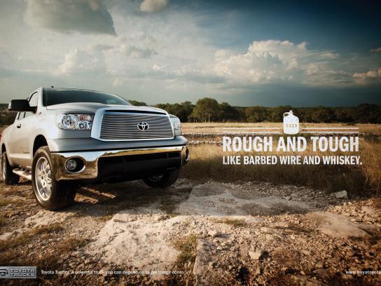 Toyota Print Ad -  Rough