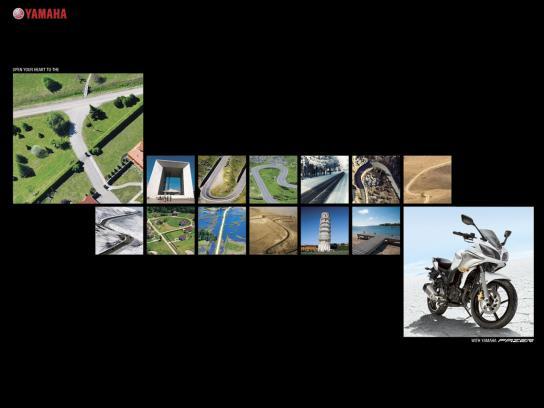 Yamaha Print Ad -  Touring