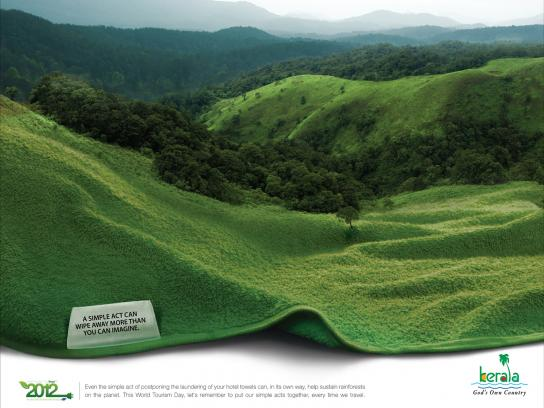 Kerala Tourism Print Ad -  Small Acts