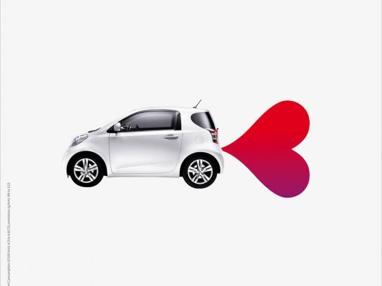 Toyota Print Ad -  Heart