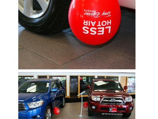 Toyota Ambient Ad -  Less hot air