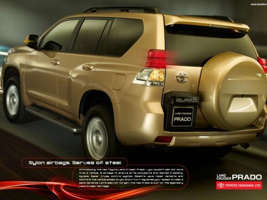 Toyota Print Ad -  Nerves