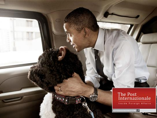 The Post Internazionale Print Ad -  Obama