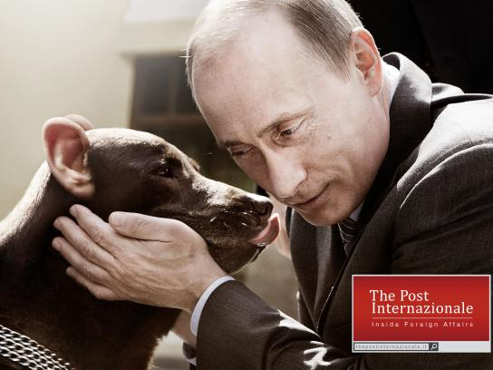 The Post Internazionale Print Ad -  Putin