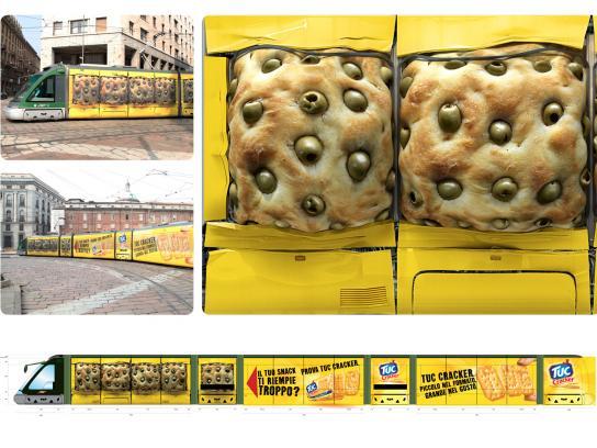 Tuc Outdoor Ad -  Tram