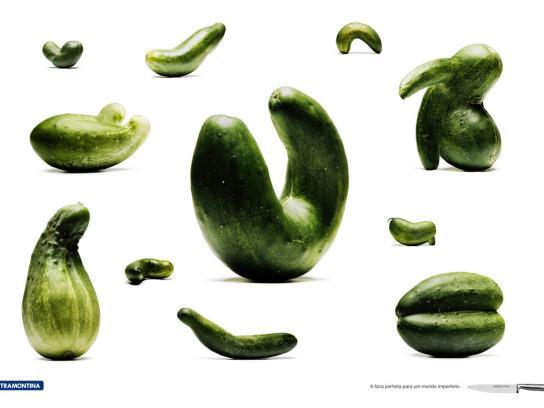 Tramontina Print Ad -  Cucumber