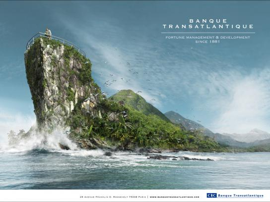 Banque Transatlantique Print Ad -  Forest