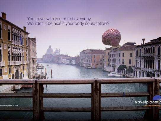 Travel Planet 24 Print Ad -  Venice