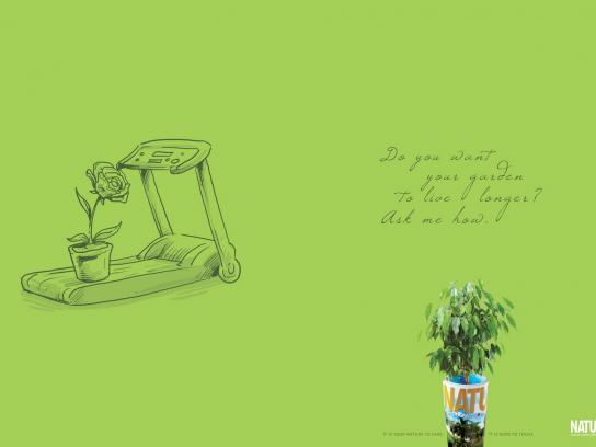 Natureza Print Ad -  Treadmill