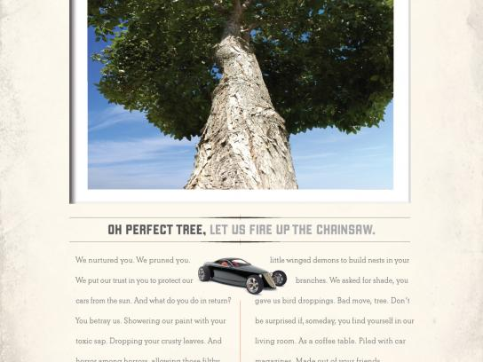 Mothers Car Polish Print Ad -  Tree