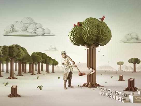 ING Print Ad -  Tree
