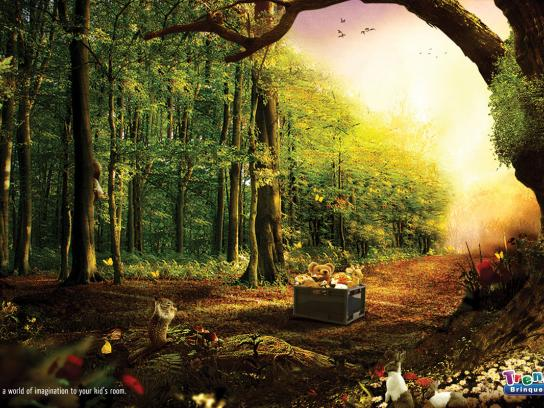 Trends Toy Store Print Ad -  Forest