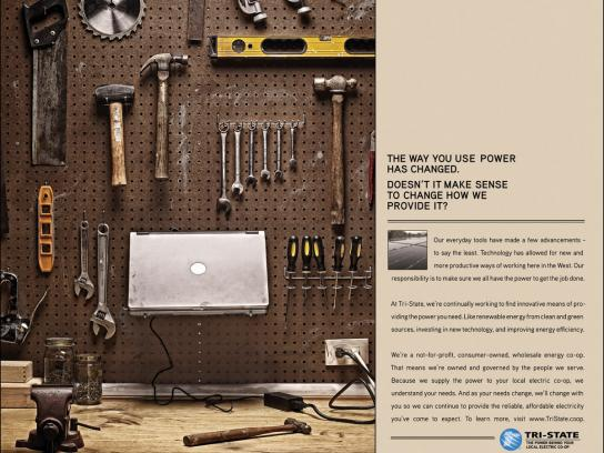 Tri-State Print Ad -  Power PC