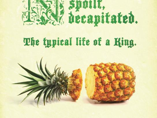 Tropical Pines Print Ad -  Decapitated