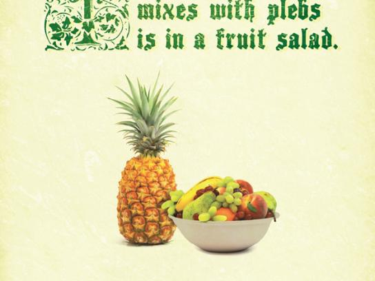 Tropical Pines Print Ad -  Plebs