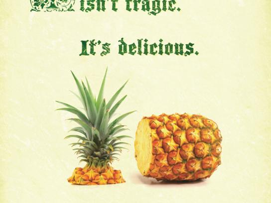 Tropical Pines Print Ad -  Tragic