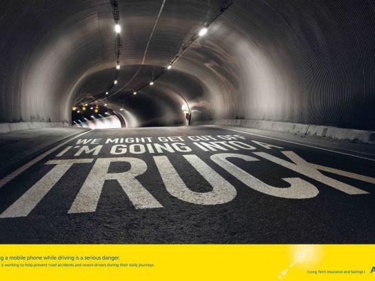AVIVA Print Ad -  Truck