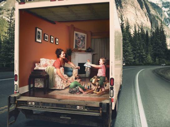 Alberta Office of Traffic Safety Print Ad -  Trucker Safety, 3