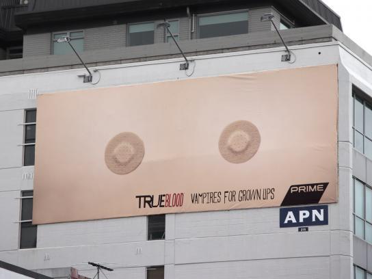 True Blood Outdoor Ad -  Boobs