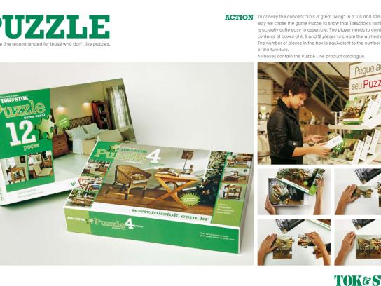 Tok&Stok Direct Ad -  Puzzle